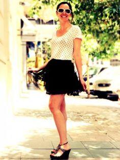 catalinaestadivina Outfit  chic  Verano 2012. Cómo vestirse y combinar según catalinaestadivina el 4-6-2012