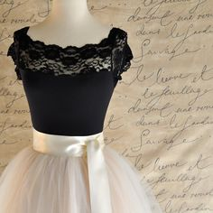 Palest champagne tulle skirt. Fluffy tulle by TutusChicOriginals