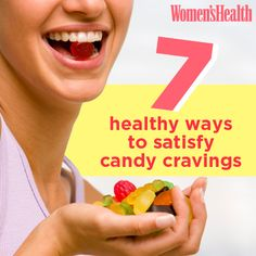 7 Healthy Ways to Satisfy Candy Cravings