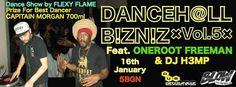Най-скандалното dancehall парти в Music Bar Blow този четвъртък!