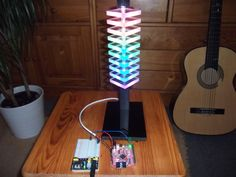 Mood lamp with an Olimexino-32U4 (Arduino Leonardo compatible) and a digital RGB LED Strip (5050 LEDs with WS2811 controller) - unfortunatel...