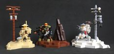 Hard Suits (Shinrai-Do) Heavy Machine Gun, Japanese Folklore, Lego Models, The Brethren, Lego Moc, Cool Lego, Lego Creations, Suits, Lego Stuff