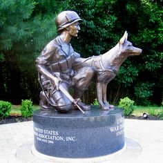memorial day soldier and their dogs | ... not forget the dogs who died in service to us on the Memorial Day