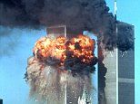 The impact of the second plane hitting the South Tower of the World Trade Centre  TERRORIST ATTACK ON WORLD TRADE CENTER, NEW YORK, AMERICA - 11 SEP 2001   Mandatory Credit: Photo by Tamara Beckwith / Rex Features ( 342429c )