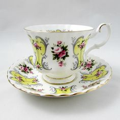 Royal Albert Love Story Series Suzanne Tea Cup and