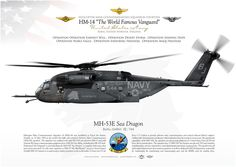 """UNITED STATES NAVY HELICOPTER MINE COUNTERMEASURES SQUADRON FOURTEEN (HM-14) """"The World Famous Vanguard"""". Naval Station Norfolk, Virginia"""