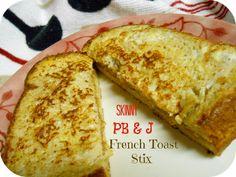 The Better Baker: Skinny PB & J French Toast Sticks