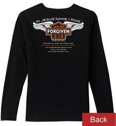 JeremiahR Mens No Doubt Long Sleeve Tees Black