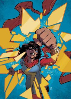 Browse the Marvel Comics issue Ms. Marvel Learn where to read it, and check out the comic's cover art, variants, writers, & more! Marvel Comics Art, Marvel Heroes, Captain Marvel, Marvel Dc, Marvel Women, Young Avengers, New Avengers, Comic Book Artists, Comic Books Art