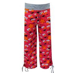 623ff1ff52 WebUndies.com Sesame Street Silly Elmo Capri Lounge Pants ( 19) ❤ liked on