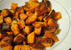 Homemade By Holman: Spicy Roasted Sweet Potatoes