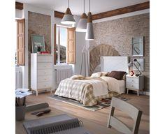 Dormitorio Juvenil Modelo Rústico Básico 1