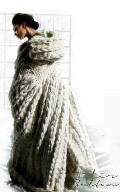 Oh, this blanket looks positively divine! Oh I wish it was mine!   Tahir Sultan from Winter 2011 Collection