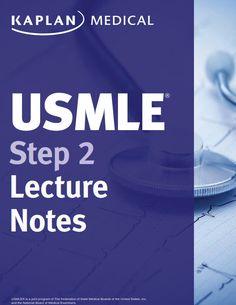 USMLE Step 2 CK Lecture Notes 2016 Kaplan Test Prep