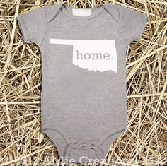 Hey, I found this really awesome Etsy listing at http://www.etsy.com/listing/123760374/oklahoma-home-state-unisex-baby-onesie