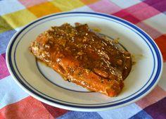 Maple SrirachaSalmon recipe, quick - easy - healthy!