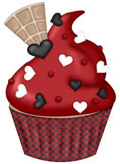 ●••°‿✿⁀Cupcakes‿✿⁀°••● Cupcake Day, Cupcake Heaven, Cupcake Pictures, Cupcake Images, Cupcakes Wallpaper, Cupcake Clipart, Cupcake Drawing, Birthday Clipart, Tattoo Flash Art