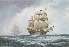 john_bentham-dinsdale_the_ark_royal_flying_the_royal_standard_in_the_c_d5627739g.jpg (1024×710)