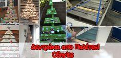 Πως να φτιάξετε Χριστουγεννιάτικο Δέντρο από Παλέτα - Οδηγίες!