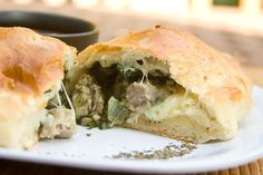 Gojee - Sausage Calzone by Mommie Cooks!