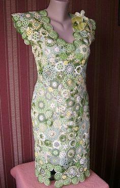 Картинки по запросу вязание ирландское кружево платья
