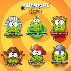 1000+ images about Om Nom ♡ Cut The Rope on Pinterest