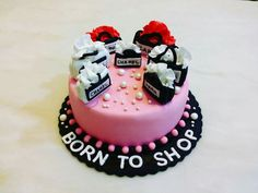 Chanel cake born to shop
