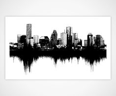 I like the idea of the sound waves below the skyline. Any other things that could go on top? maybe a forest?