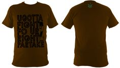 Don't you think weed be great together ? U Gotta Fight Fo ... Get me here -> http://weedweave.com/products/u-gotta-fight-fo-ur-right-2-partake-t-shirt?utm_campaign=social_autopilot&utm_source=pin&utm_medium=pin