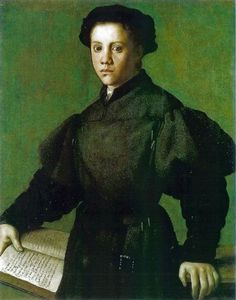 Bronzino. 'Portrait of Lorenzo Lenzi' 1527