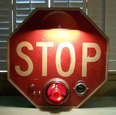 Stop Sign Lamp/ J Dooley