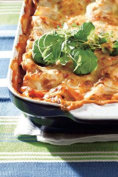 Vuohenjuustolasagne | Italia | Pirkka #food #pasta