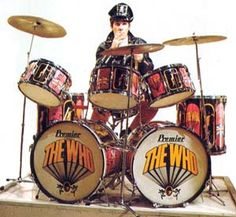 """Keith Moon """"Pictures of Lily"""" Drum Set"""