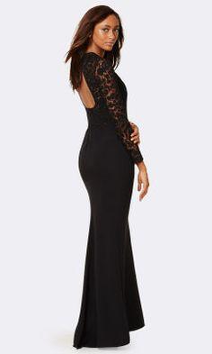 Madalyn Beaded Silk Gown - Collection Apparel Evening Dresses - RalphLauren.com