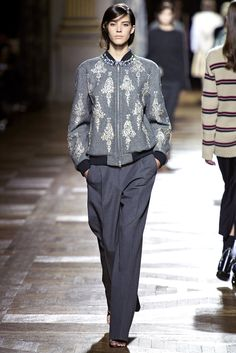 Dries Van Noten - Pasarela f/w 2013/2014