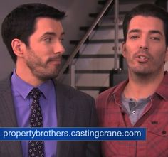 Property Brothers--Jonathan & Drew...(clm)