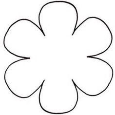 Simple Flower Clip Art at Clker.com - vector clip art online, royalty ...