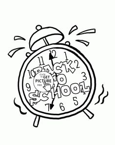 First Day Of School Coloring Page For Kids Educational Pages Printables Free
