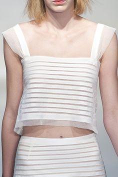 Luisa Beccaria at Milan Fashion Week Spring 2014 - StyleBistro