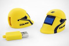 Colfax ESAB Custom Welding Helmet #USB Drive