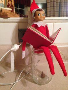 Elf on the Shelf: Potty Break