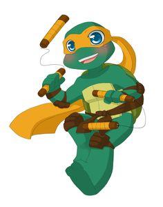 TMNT: I love being a turtle by NamiAngel.deviantart.com on @deviantART