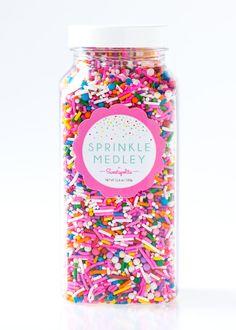 Birthday Party Sprinkle Medley Sprinkle Mix by Sweetapolita