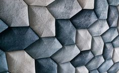Luffa Labs acoustic tiles made from luffa material, after having soaked up toxic dye leavings from denim manufacture.