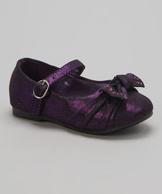 Another great find on #zulily! Purple Bebe Mary Jane by Carrie #zulilyfinds