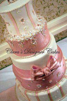 Pink Glam by Designer Cakes, via Flickr