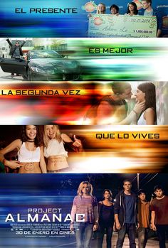 Cartel de Project Almanac