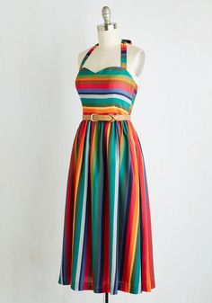 My Zest Intentions Dress. With your bubbly brio and this colorful midi dress, your cheer travels far! #multi #modcloth