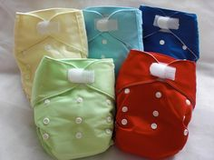 Suede Cloth, Kawaii Heavy Duty Cloth Diaper - $9.75 with free shipping from Sweetbottoms Baby Boutique