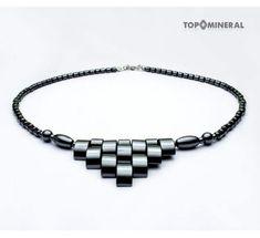 Náhrdelník Hematit pancier Minerals, Bracelets, Men, Jewelry, Jewlery, Jewerly, Schmuck, Guys, Jewels